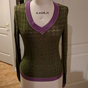 Missoni for Target prep school sweater